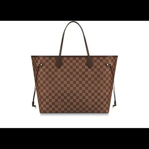 Authentic Louis Vuitton GM neverfull tote